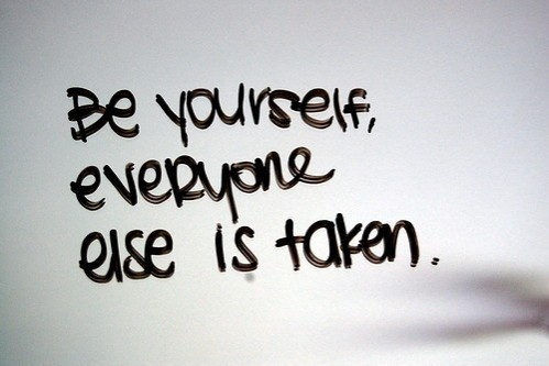 Monday Motivation// Always Be Yourself